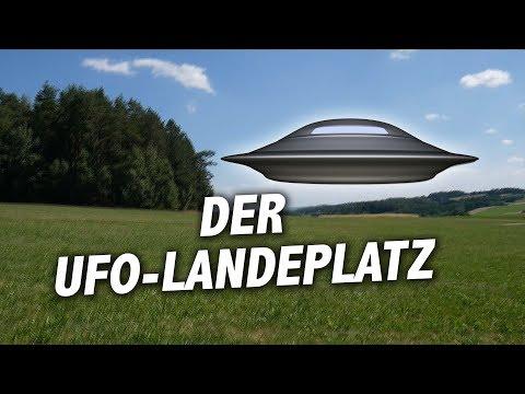 Der UFO-Landeplatz in Kautzen