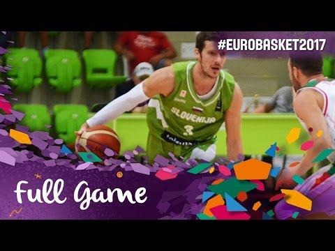 Ukraine v Slovenia - Full Game - FIBA EuroBasket 2017 Qualifiers