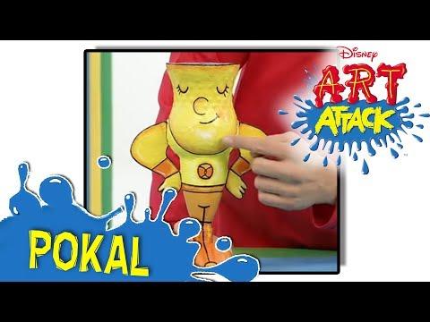 Art Attack Bastelclip #12 - Das Monsterinsekt   Disney Juniorиз YouTube · Длительность: 5 мин36 с