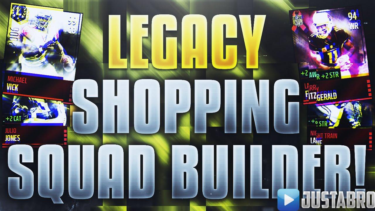 Madden  Team Builder