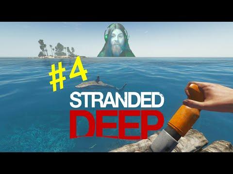 Stranded Deep #4 Und der Haifisch, der hat Zähne ...