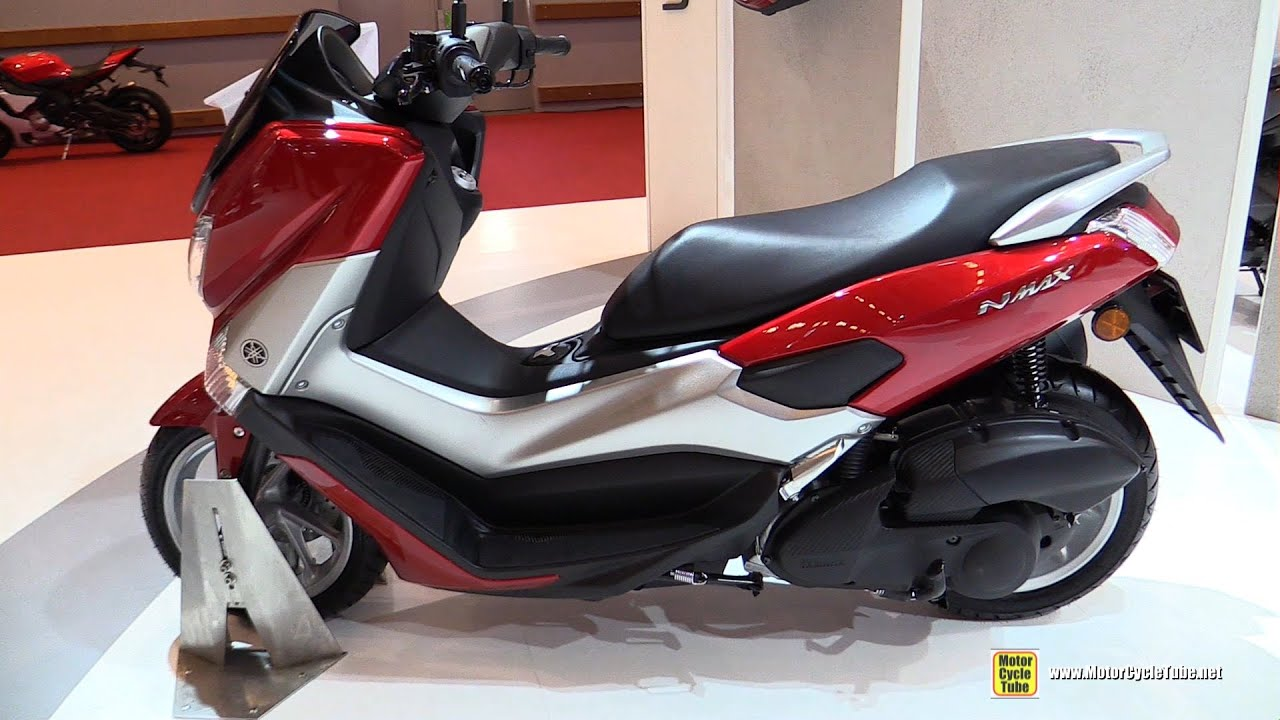2016 yamaha nmax 125 scooter walkaround 2015 salon de la moto paris youtube. Black Bedroom Furniture Sets. Home Design Ideas