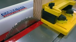 How Do I Hold Timber When Using A Table Saw Featherboards Magswitch And Kreg # 16