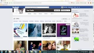 how to hide and unhide likes in facebook timeline
