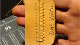 7 Different Ways to Stitch Leather by Hand