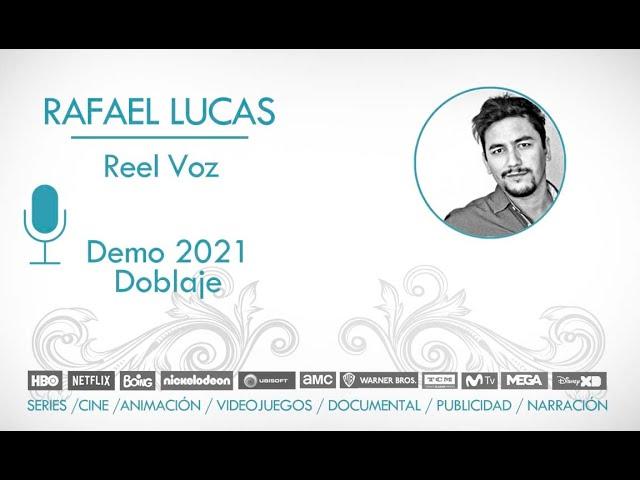 🗣🎙 ::Rafael Lucas DOBLAJE :: REEL 2021:: Muestras de algunos trabajos de doblaje.