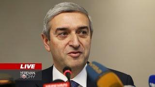 Վահան Մարտիրոսյանի մամուլի ասուլիսը  Ուղիղ