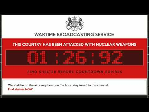 UK Nuclear Attack Warning