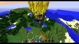 Beyblade trick in Minecraft !
