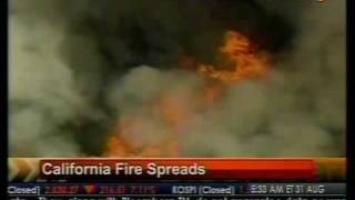 California Fire Spreads - Bloomberg