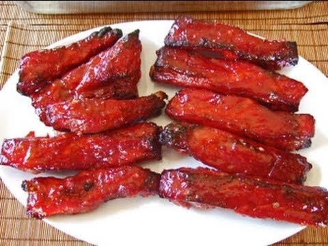 Chinese Food Red Meat On A Stick Recipe