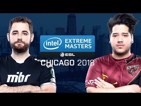 CS:GO - mibr vs. Renegades [Inferno] - Group A Ro1 - IEM Chicago 2018