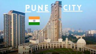 Pune City Pune City Drone View Emerging City Of  Ndia Pune City Tour