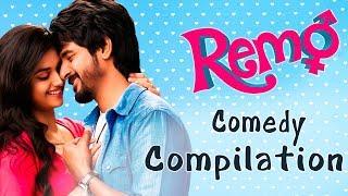 Remo - Best Comedy Scenes   Compilation   Super Hit   Romantic Movie