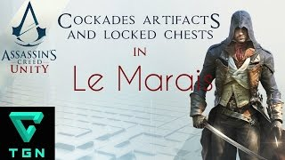 Assassin's Creed Unity Cockades, Artifacts and Locked Chests in Le Marais