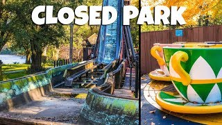 Exploring a Closed Theme Park - History, Theme & Amusement