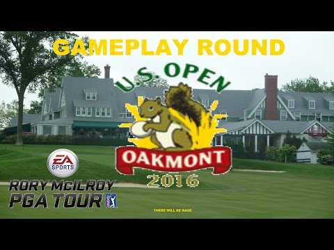 Rory McIlroy PGA Tour: 2016 US Open Championship Gameplay Round