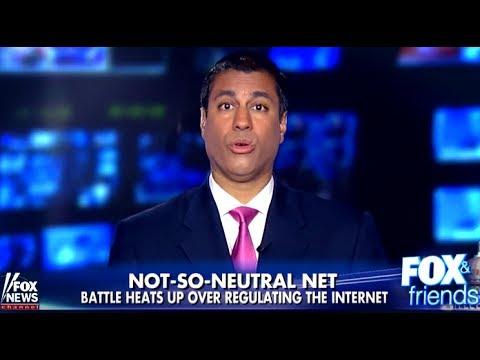 WATCH: FCC's Ajit Pai Lies Through His Teeth on Fox News About Net Neutrality
