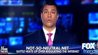 WATCH: FCC's Ajit Pai Lies Through His Teeth on Fox News About Net Neutrality