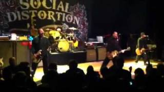 """Social Distortion """"Road Zombie"""" and """"So Far Away"""" @ Town Ballroom (Buffalo, NY)"""