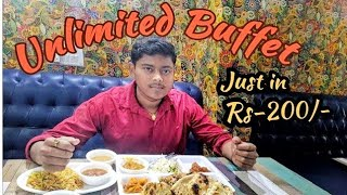 Unlimited Buffet just in Rs-200/-|Cheap and Best Buffet ever in Delhi NCR|Indirapuram|Food Paradise