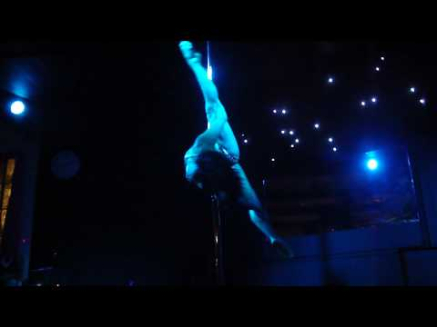 Deb Riley's British Pole Dance Academy Launch - Performance - Jenyne Butterfly