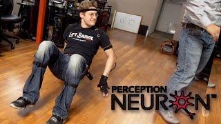 Perception Neuron Unboxing