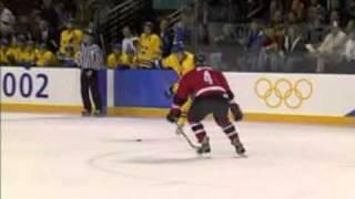 Sweden vs Canada Salt lake city 2002 olympics