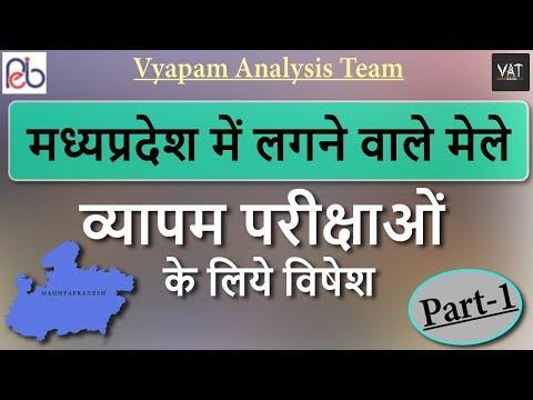 मध्यप्रदेश के मेले । Fairs of MP | Part-1 | MP Patawari Exam | Vyapam Analysis Team | #VAT