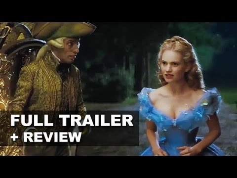 Cinderella 2015 Official Trailer + Trailer Review : Beyond The Trailer
