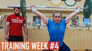 WEEK #4 / TOROKHTIY_GANG training program