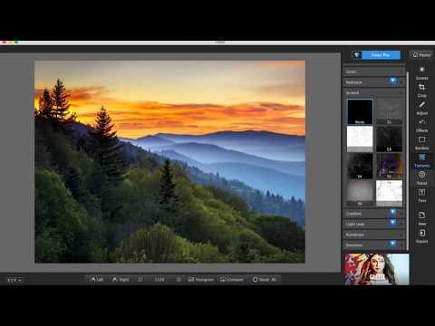 Fotor Photo Editor - Basic Introduction (Mac version)