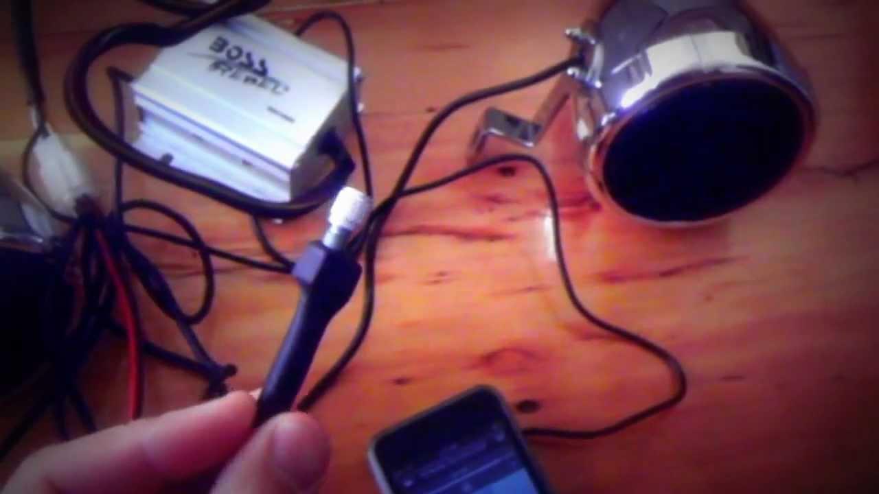 small resolution of maxresdefault boss mc400 motorcycle stereo youtube boss rebel mc400 wiring diagram at cita asia