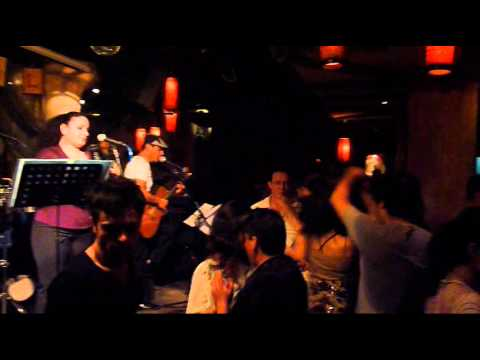 A Night Out Salsa Dancing in Shanghai, China