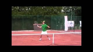 Tennis Studiebeurs USA OverBoarder - Nico de Groof