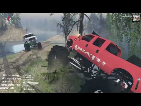 Spin Tires BIGGEST MUD TRUCK!?