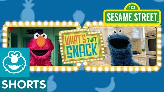 Sesame Street: Cookie Monster Plays What's That Snack #1