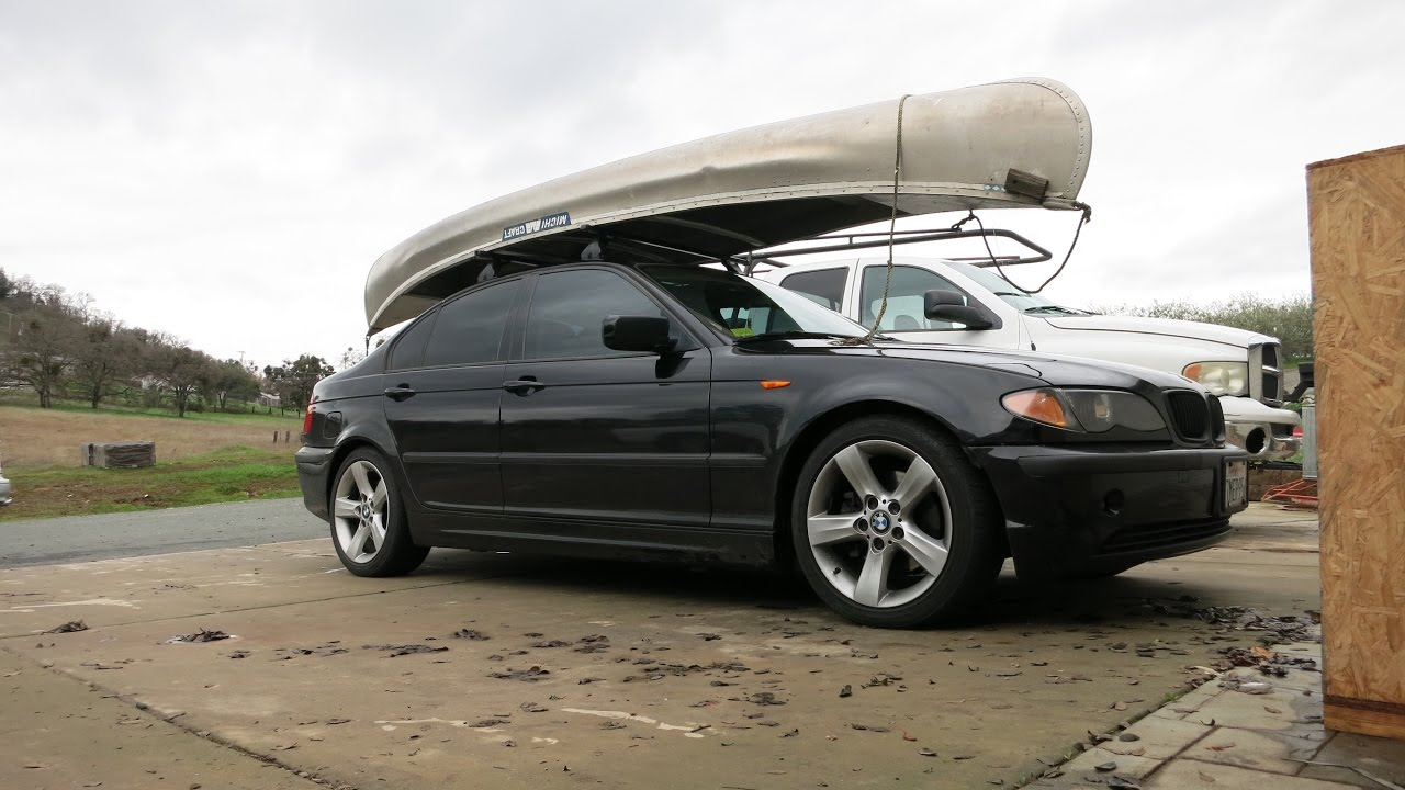 E46 GETS A ROOF RACK