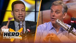 Kyrie, Celtics take 2-0 lead, Chris Broussard on Lakers instability & Ben Simmons | NBA | THE HERD