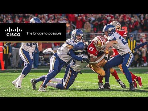 DeForest Buckner and George Kittle Mic'd Up vs. Vikings | 49ers