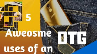 5 Aweosme uses of An OTG!..(I turned my Android into a laptop with a mouse and Keyboard )