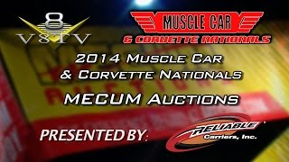 2014 Muscle Car and Corvette Nationals Coverage: John Kraman Mecum Auctions Interview V8TV-Video