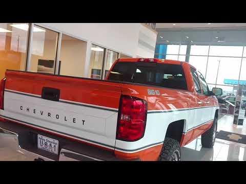 Retro Big 10 Chevy Option Offered On 2018 Silverado Medium Duty