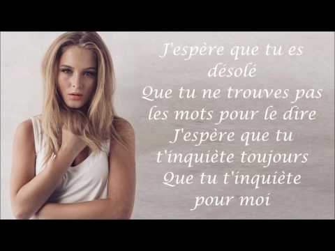 Zara Larsson ~ I Can't Fall In Love Without You ~ Traduction Française