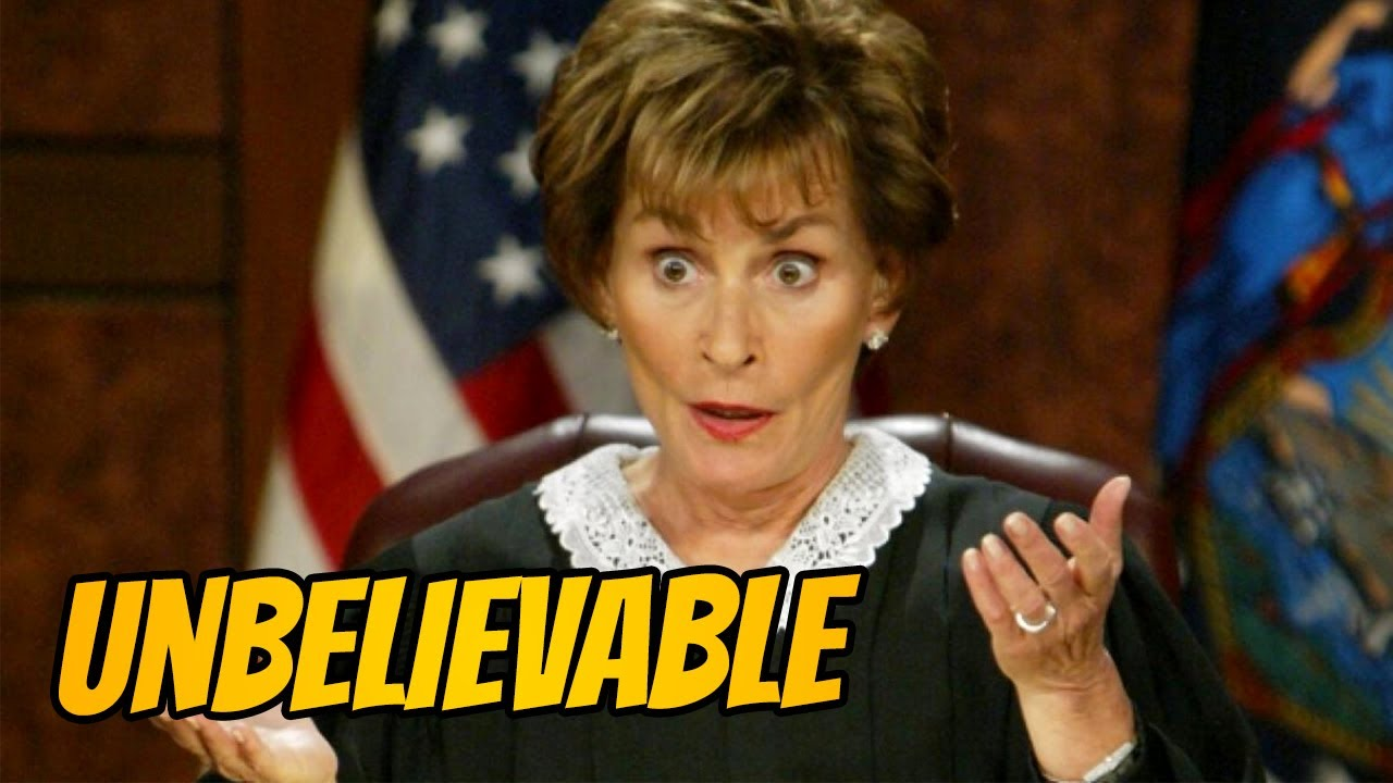 Download UNBELIEVABLE MOMENTS ON JUDGE JUDY YOU WON'T BELIEVE