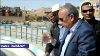 بالفيديو والصور.. محافظ أسوان يتابع سلامة مياه الصرف المعالج لمحطة كيما من الملوثات
