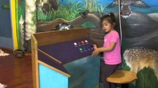 Girls at the Hands On Museum in Olympia - Part 5