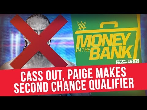 Big Cass Out, Paige Makes Second Chance Money In The Banks Qualifier