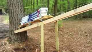 homemade Roofing Shingle loader GAF Timberline HD