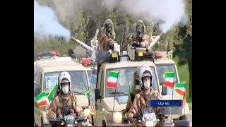 Iran Army National Day parade, Fighting COVID-19_April 17, 2020_مبارزه با كرونا رژه روز ملي ارتش